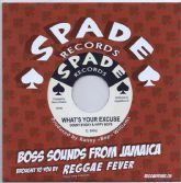 Count Sticky & The Hippy Boys - What's Your Excuse / Version (Spade / Reggae Fever) EU 7""